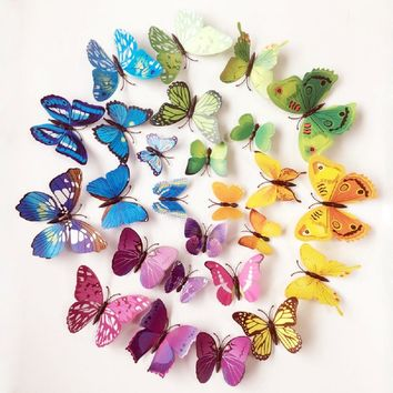 Butterflies On The Wall Stickers