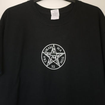 Goetia | Goetic T-shirt.  Black, LARGE size only.