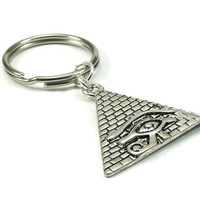 Egyptian Pyramid Key Chain