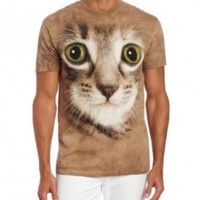 The Mountain Men's Striped Cat Face
