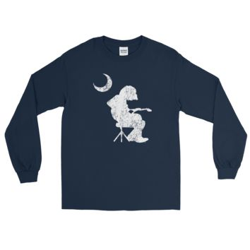WSP DISTRESSED Mikey Houser Palmetto Moon Long Sleeve T-Shirt