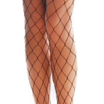 'Edge' Fishnet Tights