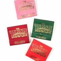 Incense Matches - Fruit & Berry (Pack of 4 Scents)