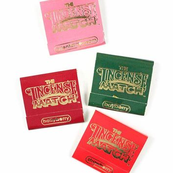 Incense Matches - Fruit & Berry (Pack of 4)