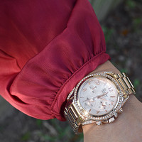 Classy Lady Watch: Rose Gold