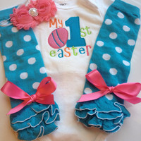 Baby Girl Easter- MY FIRST EASTER outfit