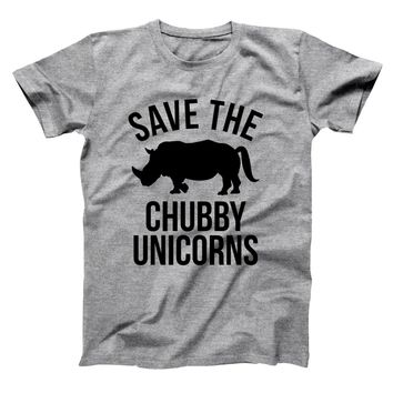 Save The Chubby Unicorns Men's T-Shirt
