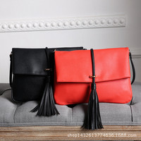 Summer One Shoulder Fashion Tassels Bags [8211112775]