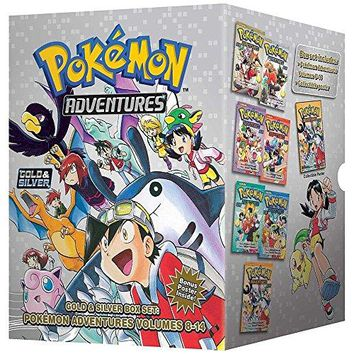 Pokémon Adventures Gold & Silver Box Set (set includes Vol. 8-14) (Pokemon) Used English Manga