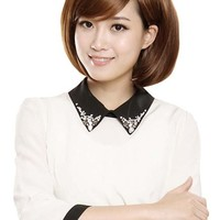Simplicity Classy Sophisticated Short Straight Wig Sexy Style for Girls
