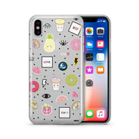 The Patch Case - Clear Case Cover Phone Case