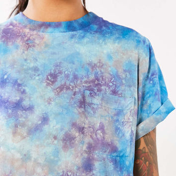 Silence + Noise Tie-Dye Pocket Tee - Urban Outfitters