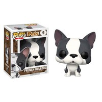 Pop! Pets Gray and White French Bulldog Pop! Vinyl Figure