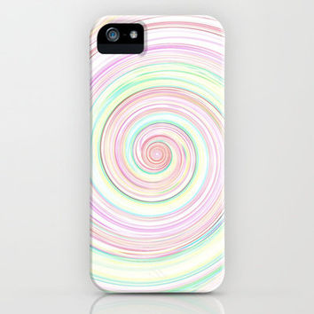 Re-Created Spin Painting  iPhone & iPod Case by Robert Lee