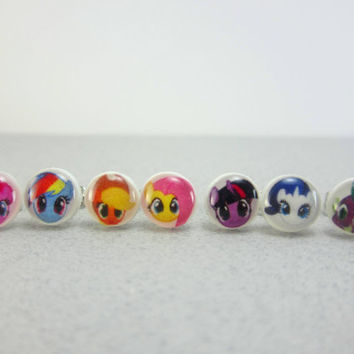 My Little Pony Earrings, Jewelry