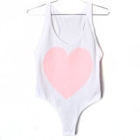 Some Like It Heart Leotard (Select Size)