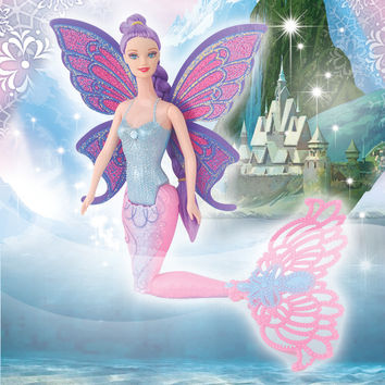 Original Swimming Mermaid Dolls Fashion Ariel Mermaid Doll With Wings Toys Ariel Princess Jointed Mermaid Bonecas For Girls Gift