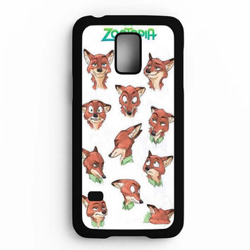 Zootopia Art Samsung Galaxy S5 Mini Case