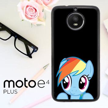 Mlp Rainbow Dash R0198 Motorola Moto E4 Plus Case