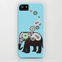 Paisley Elephant Girly iPhone 5 Cases: Unique Animal iPhone 5 Phone Covers