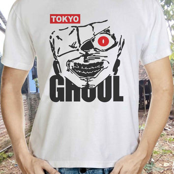 Tokyo Ghoul t-shirt for him or her. Tokyo Ghoul tshirt as gift. Tokyo Ghoul tee present. Tokyo Ghoul idea gift. A great Tokyo Ghoul gift top