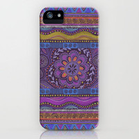 Spice Bloom iPhone Case by Janet Broxon