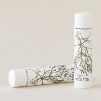 Christmas Mistletoe Kisses Photography Floral Lip Balm