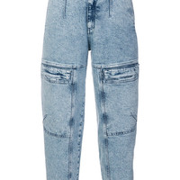 Stella McCartney Front Zipped Jeans - Farfetch