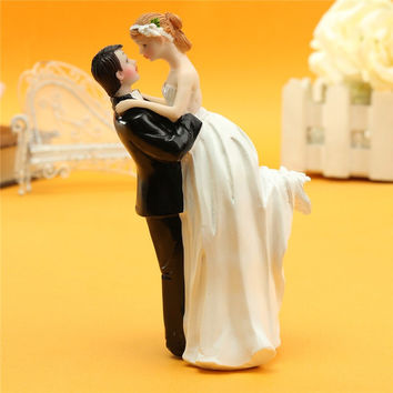 Wedding Cake Accessories Casamento Decoration Bride And Groom Resin White Stand Topper Decorating Tools