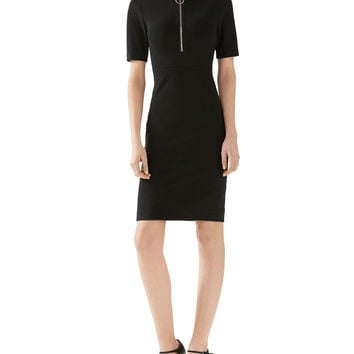 Compact Viscose Jersey Dress, Size: