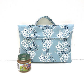 Diaper Bag - Diaper Clutch - Small Diaper Bag - Nappy Clutch - Baby Food Pouch - Waterproof Bag - Changing Bag - Diaper Storage - Wet Bag