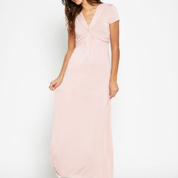 Dylan Knot Front Maxi