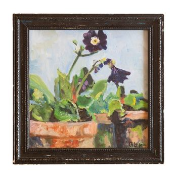 Grace Keogh Potted Flowers Painting