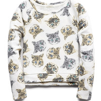 Crazy Cats Sweatshirt (Kids)