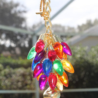 Christmas Accessory for Car, Rear View Mirror Charm, Rearview Mirror Charm, Car Accessory Charm