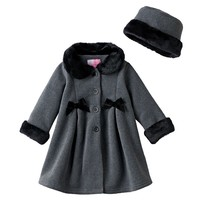 Sophie Rose Fleece Bow Jacket - Baby Girl, Size: