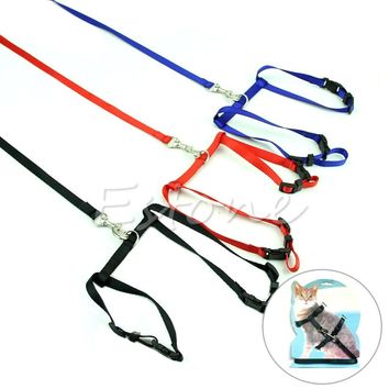 Adjustable Nylon Rope Cat Lead Leash
