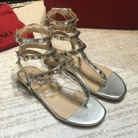 Valentino Women Fashion Casual Sandals Shoes