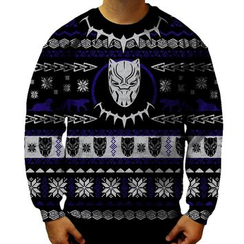 Black Panther Christmas Sweatshirt