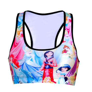 3D Print Sport brassiere.Cartoon,Creation shirt.Size For Everyone. = 4505281988
