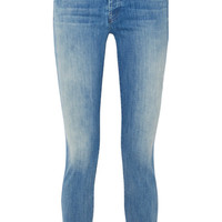 Mother - The Stunner distressed high-rise skinny jeans