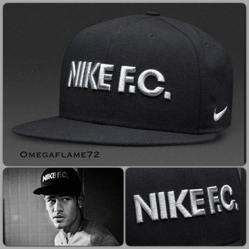 "DCCKWA2 Nike FC True SnapBack Cap, Rare Neymar ""We Don't Play�Campaign, 100% Genuine"