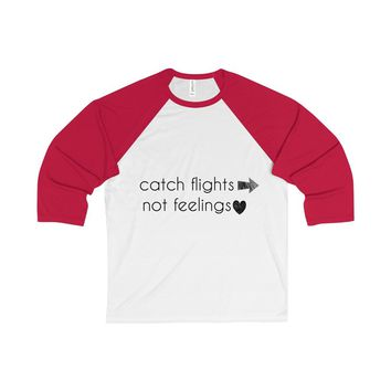 Catch Flights Baseball Raglan