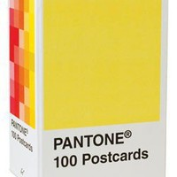 Pantone: 100 Postcards $19.95 : Chronicle Books