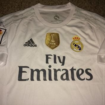 Sale!! Adidas REAL MADRID Fc Soccer Jersey Spain La Liga Football Shirt
