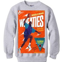 Michael Jordan Grape 5 Wheaties sweatshirt