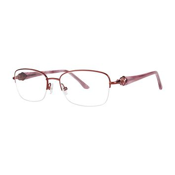 Dana Buchman - Marilyn 52mm Berry Eyeglasses / Demo Lenses