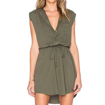 BB Dakota Jack by BB Dakota Jolene Dress in Utility Green