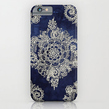 Moroccan Floral iphone case, smartphone