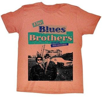 Blues Brothers Black Salmon T-shirt